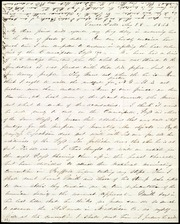 Letter to] My dear friend [manuscript