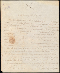 Letter from Susan Paul, Boston, [Mass.], to William Lloyd Garrison, April 1, 1834