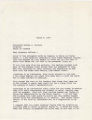 Letter from Edwin Strickland, staff director for the Alabama Legislative Commission to Preserve the Peace, to Governor George Wallace in Montgomery, Alabama.