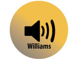 Audio recording clip of interview with Cora Williams by Kathlyn E. Wilson, March 11, 1975