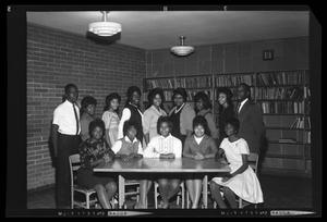 [Group of African American Students]