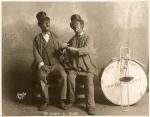 Publicity photo of James McIntyre & Thomas Heath as Georgia Minstrels