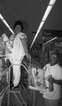 Store opening, Los Angeles, 1990