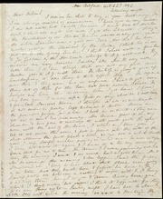 Letter to] Dear Deborah [and a letter to] Dear Caroline [manuscript