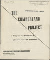 The Cumberland project: A program for renewing a blighted area of Greensboro