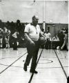 Franklin Harlow. First African American referee in Syracuse at H.W. Smith School, Salt Springs Road, Syracuse.