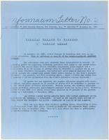 Information Letter No. 2