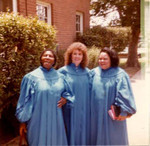 Lake View Terrace Baptist Church choir members, 1985