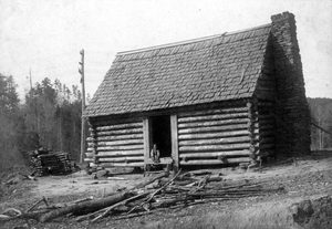 African-American cabin