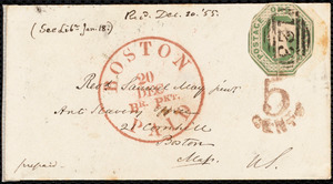 Letter from S. Alfred Steinthal, Bridgewater, [England], to Samuel May, Dec. 4th, 1855
