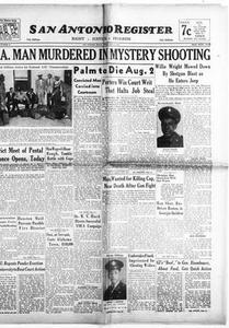San Antonio Register (San Antonio, Tex.), Vol. 16, No. 25, Ed. 1 Friday, July 5, 1946 San Antonio Register