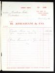Receipt, Abraham to Lott, Liberia, 1962 Nov. 14