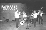 Jazz band plays at Glendale event, circa 1970s