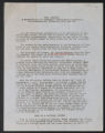 Thumbnail for Statements by various organizations and groups. Statement by the Communist Party, Minnesota-Dakotas. (Box 1, Folder 2)