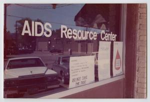 Front of the AIDS Resource Center.