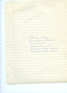 Student family histories: Hill, Katherine (Couch, Adams)