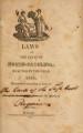 Laws of North-Carolina [1818] Laws of the State of North-Carolina.