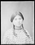 Seneca woman, Lena Cayuga, 17 years, Seneca Indian Territory. U. S. Indian School 1904