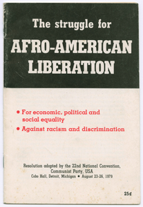 The Struggle for Afro-American Liberation