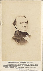 Portrait of Commodore McKean, U.S.N.