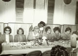 Group of women at a social event