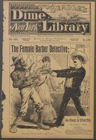 The female barber detective, or, Joe Phenix in Silver City