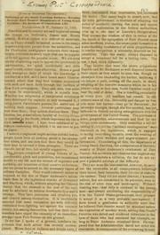 Thomas Butler Gunn Diaries: Volume 15, page 103, January 25, 1861 [newspaper clipping]