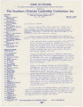 Form letter from the Southern Christian Leadership Conference in Atlanta, Georgia, written by its president, Martin Luther King Jr.