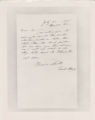 Letter from Bessie Smith to Hatch (copy)