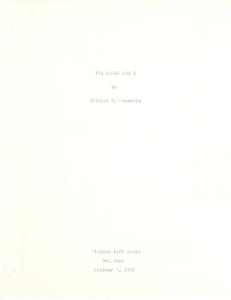 Student family histories: Montrois, William