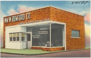 WM. W. Rumford Co., general contractor & builder