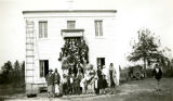 Group Portrait of Congregation, St. Theresa Mission and School, West Mount Vernon, Alabama, 1928