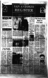 San Antonio Register (San Antonio, Tex.), Vol. 49, No. 19, Ed. 1 Thursday, August 16, 1984
