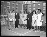 Dean of Womens [sic] Garden Party, June 1964 [cellulose acetate photonegative]