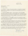 Letter from Carleton S. Lentz in Anniston, Alabama, to Judge George Wallace in Montgomery, Alabama.