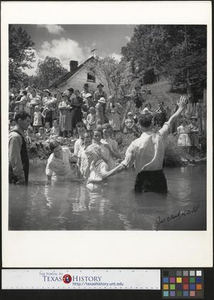 Baptising in Olde Towne Creek