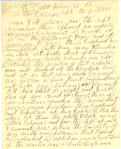 Letter from R. H. McIntyre to The Crisis