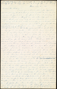 Letter from Abby Kelley Foster, Utica, [New York], to Maria Weston Chapman, Mar[ch] 8, [18]43