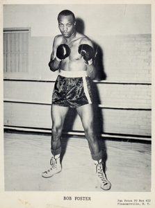 Bob Foster, full length portrait as boxer