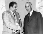 Celes King III and Roy Wilkins