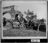 Photograph of women taking a ride in a carriage, McDuffie County, Georgia, ca. 1930-1933?