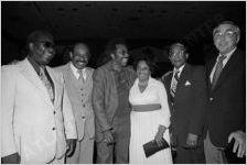 Herman Russell, Billy McKinney, Dollie Mae Shepherd, E. J. Shepherd, and Sidney Marcus