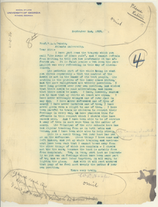 Letter from W. D. Hooper to W. E. B. Du Bois