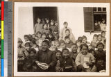 Children leaving Sunday School party, China, ca.1920-1930