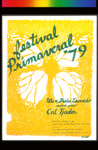 Festival Primaveral, Announcement Poster for