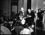 Elder Michaux with Gene Autry [acetate film photonegative, 1940]