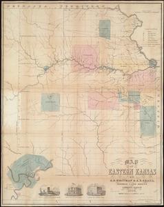Map of Eastern Kansas