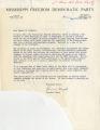 Robert Kastenmeier papers: Mississippi Freedom Democratic Party telegrams, 1965
