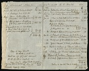 Copy of a financial account] [manuscript