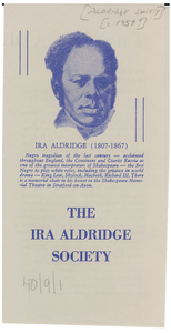 Ira Aldridge Society